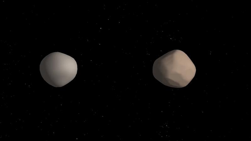 地球近傍小惑星「非常に稀なバイ...